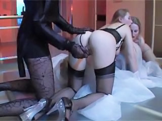 Ass Babe Lesbian Stockings Toy