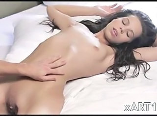 Babe Brunette Cute Shaved Skinny Small Tits Teen