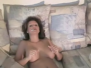 Amateur MILF Smoking
