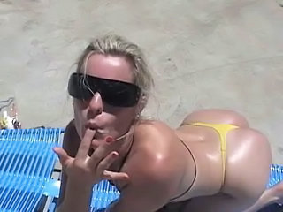 Amateur Ass Beach Bikini Outdoor Teen