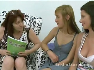 Lesbian Mature Mom Old and Young Teacher