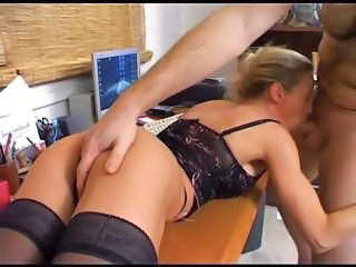 Blowjob European French Hardcore Office Secretary