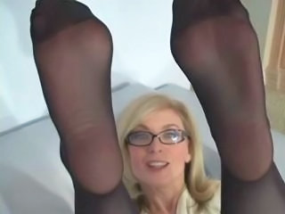 Glasses MILF Pantyhose