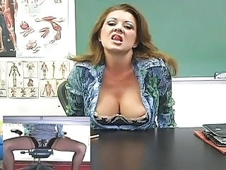 Big Tits MILF Teacher Uniform