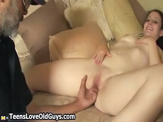Big Tits Brunette Old and Young Teen
