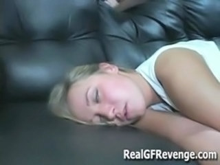 Girlfriend Man Sleeping Teen