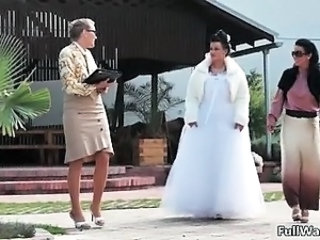 Bride MILF Outdoor