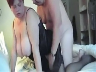 BBW Big Tits Doggystyle Mature Natural Nipples Older SaggyTits