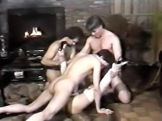 Three rods for insatiable babe