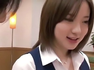 Asian Cute Japanese Office Teen
