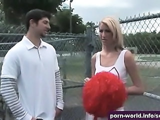 Cheerleader Outdoor Skinny Teen Uniform