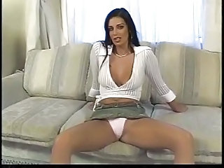 Amazing Double Penetration MILF Panty