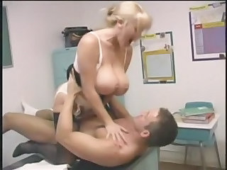 Big Tits Hardcore Lingerie MILF Pornstar Riding School Stockings Teacher
