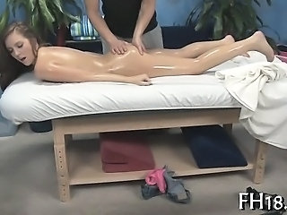 Ass Massage Oiled Teen