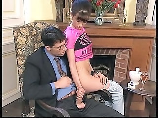 Daddy Handjob Old and Young Teacher Teen