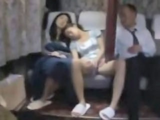 Public Sleeping Teen