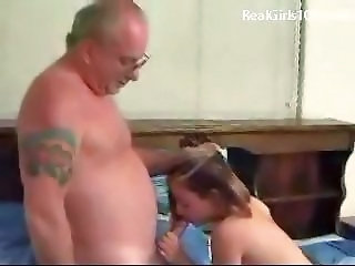 Blowjob Daddy Daughter Old and Young Teen