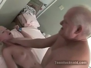 Teen fucks old nightmare