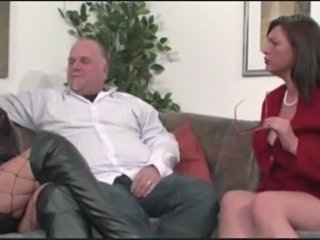 European German Mature Older Threesome