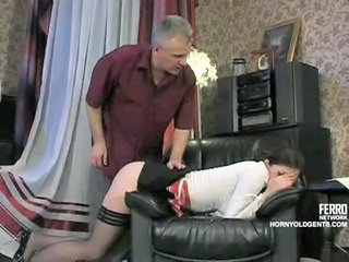Daddy Maid Old and Young Russian Stockings Teen
