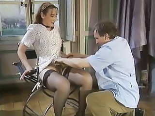 Daddy Doctor Old and Young Pornstar Stockings
