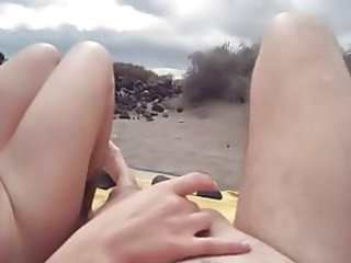 Amateur Beach Handjob Nudist Outdoor