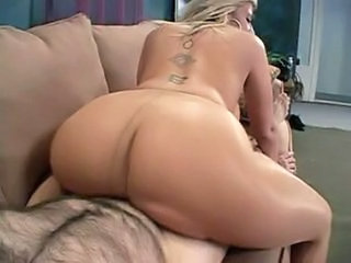 Ass MILF Pantyhose Riding Tattoo