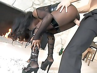 Amazing Big cock Clothed Doggystyle Hardcore Lingerie