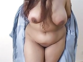 Amateur BBW Natural Stripper