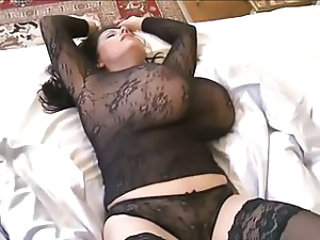 Big Tits Chubby Lingerie MILF Natural Panty
