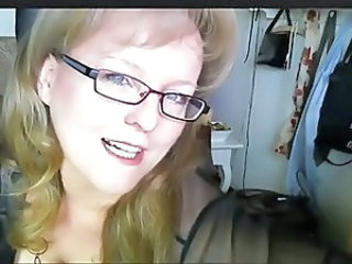 German Glasses Mom Webcam