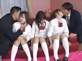 Asian Groupsex Japanese Student Teen Uniform