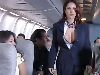 Big Tits MILF Public Uniform