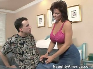 Big Tits Lingerie MILF Mom Old and Young Pornstar