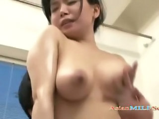 Asian Bus Japanese MILF Natural