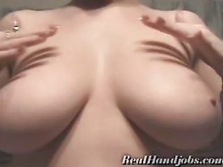 Bus Handjob Natural Pov