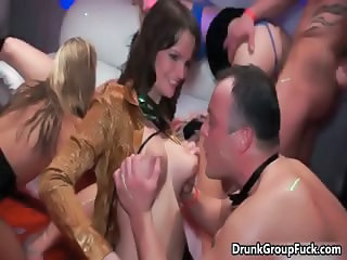 Hot drunk babe with awesome part6