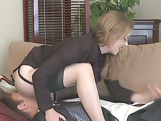 Femdom Facesitting and Milking