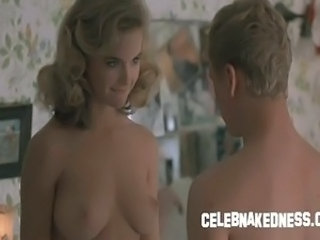 Celeb kelly preston nude bare natural breasts and bush in the movie mischief
