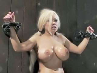 Bound And Torture process For great tited Blonde Natasha Talonz