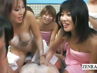 Subtitle Japan Schoolgirls Bathing Harem