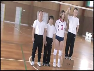 Tall Japanese Woman Erika Takashita Gets...