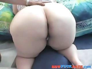 Fat slut gives head and get cum on her face