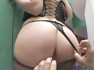 Watch Stella Red take two cocks in her mouth