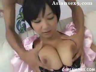 Meguru kosaka cute busty asian babe penetrated and gets juise creampie