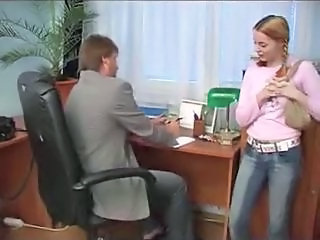 Teen fucking at work