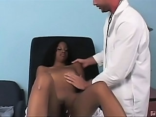 Somaya's tasty chocolate titties were bothering her so it was up to the good...
