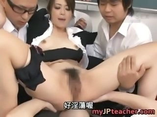 Maki Houjo exciting real real asian part5