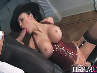 Jasmine Jae Masturbates And Sucks Cock