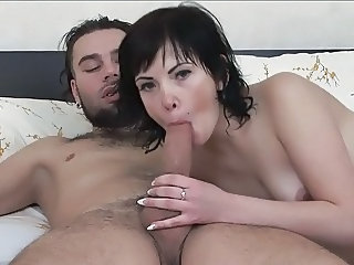 Young brunette has great anal sex